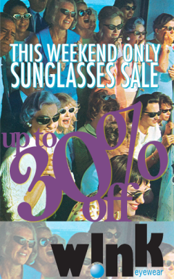 This weekend only!  Sunglasses Sale
